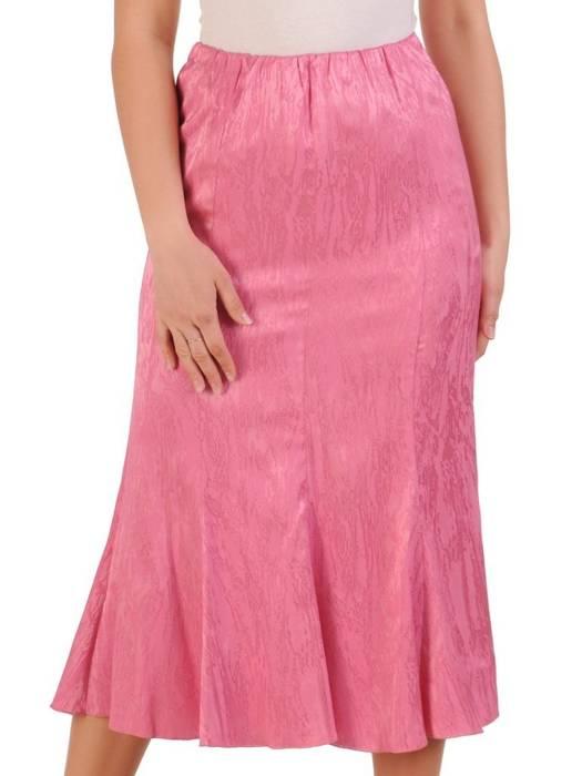Elegancki komplet damski, różowa spódnica z bluzką 29579