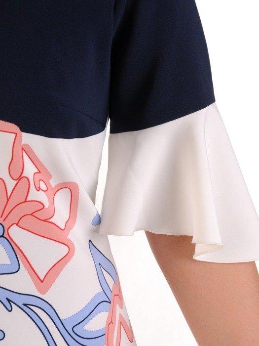 Sukienka damska, wiosenna kreacja w kwiaty 25820
