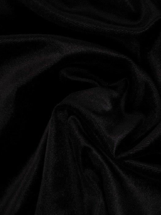 Aksamitna sukienka wyszczuplająca z koronkowymi rękawami 19175