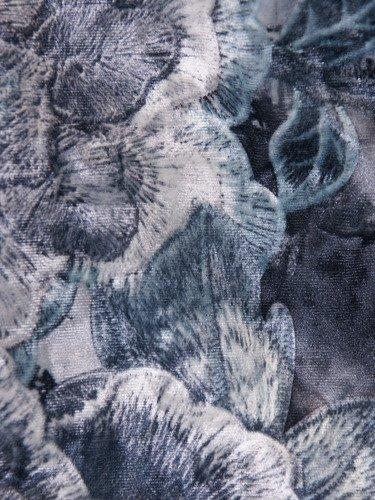 Aksamitny żakiet w kwiaty Wioleta I