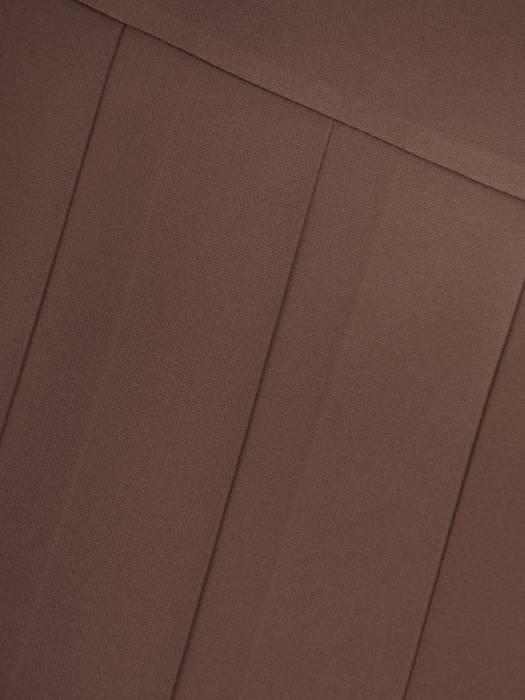 Beżowa spódnica z ozdobnymi plisami 27869
