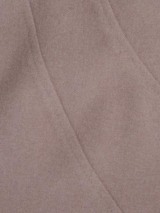 Beżowa spódnica z przeszyciami wyszczuplającymi 14189