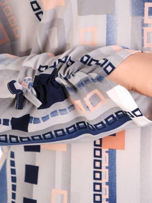 Bluzka damska w oryginalnym wzorze 29836