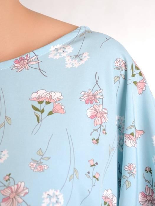 Bluzka damska z przedłużanym tyłem 29480