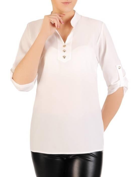 Bluzka koszulowa ze stójką 29187