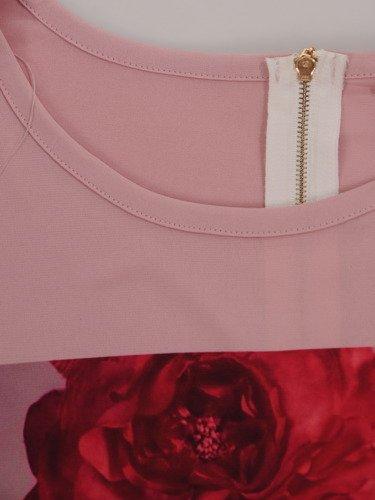 Bluzka z atrakcyjnym nadrukiem Domicela III.