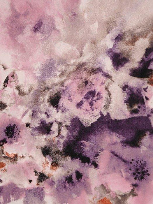 Bluzka z dzianiny w kwiaty 26177