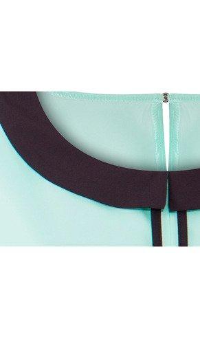 Bluzka z kontrastowymi lamówkami Julia IX.