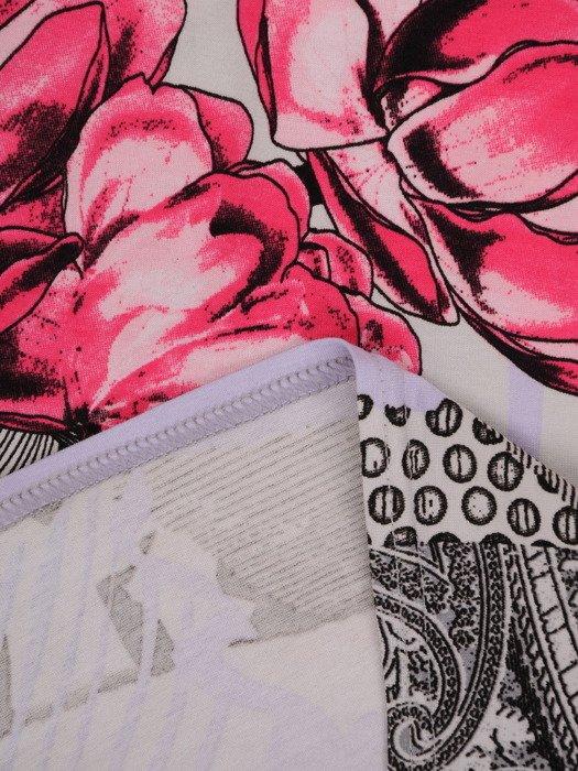 Bluzka z kwiatowym nadrukiem Szarlin V.