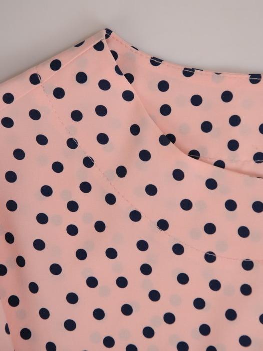 Bluzka z plisowanymi mankietami Selena I
