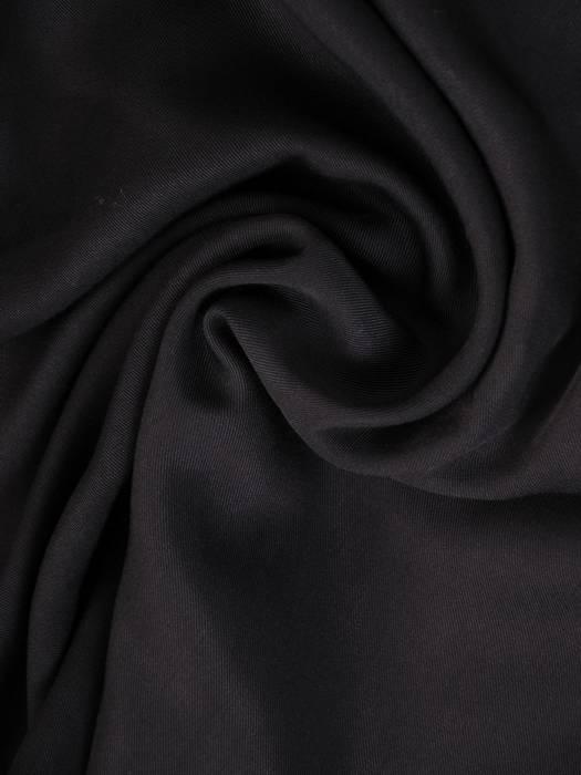 Czarna tunika z efektownym wykończeniem 27750