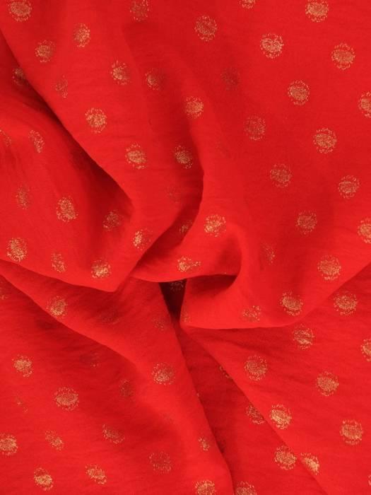 Czerwona bluzka z przedłużanym tyłem 28649