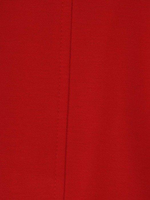 Czerwony żakiet zapinany na dwusuwakowy zamek 23509