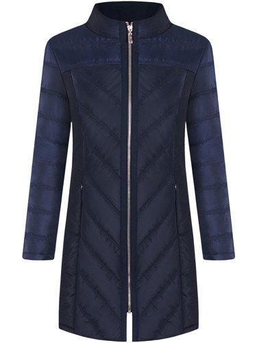 Długa kurtka, płaszcz na suwak Benedykta.