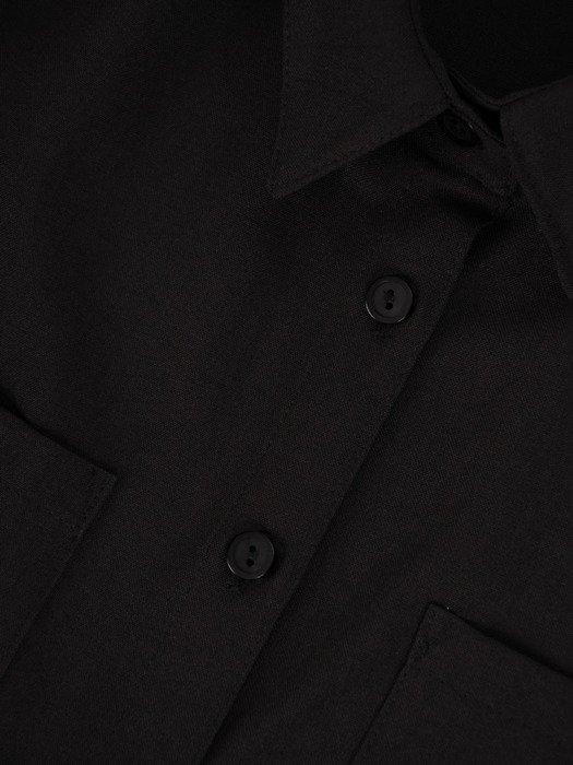 Długa, luźna koszula z kołnierzykiem 17521.