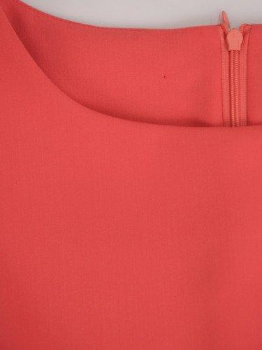 Dwukolorowa sukienka wyszczuplająca Aurora V, modna kreacja modelująca figurę.