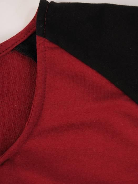 Dwukolorowy dres damski z dzianiny 29451