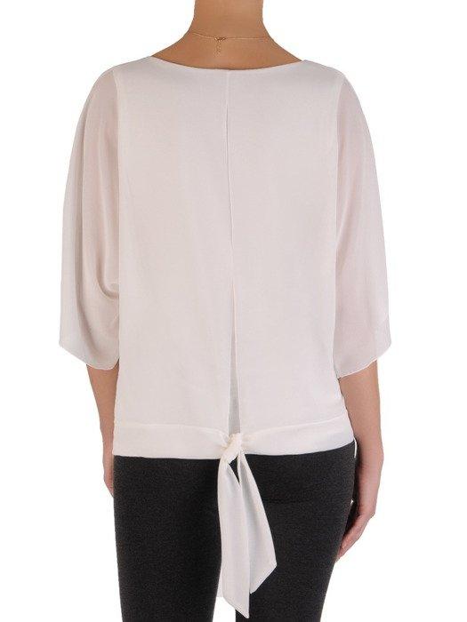 Dwuwarstwowa bluzka z szyfonowymi rękawami Stella I