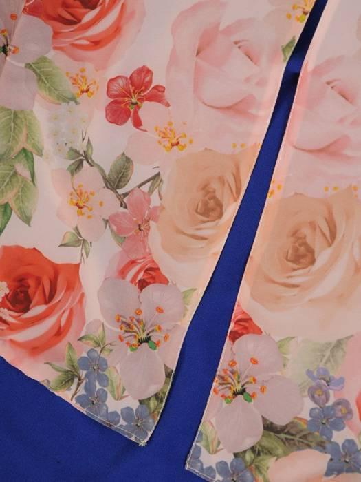 Dwuwarstwowa tunika w kwiaty 29835
