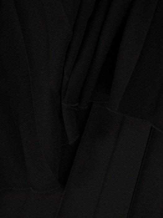 Dzianinowa, plisowana spódnica 25258