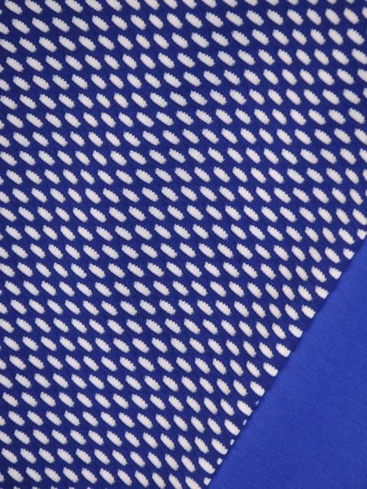 Dzianinowa sukienka damska, kreacja o wyszczuplającym wzorze 29754