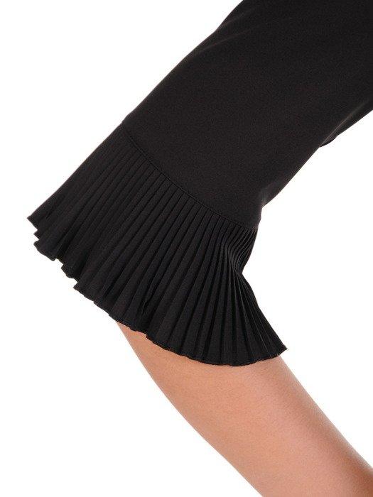 Elegancka bluzka z plisowanymi wstawkami 19669