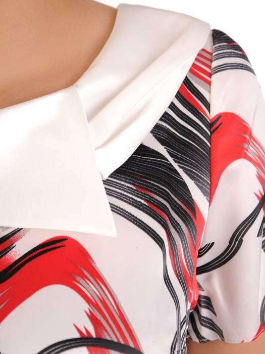 Elegancka sukienka damska, kreacja o oryginalnym wzorze 29709