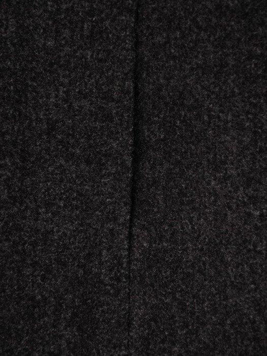 Elegancki płaszcz z ozdobną stójką Iwetta VI