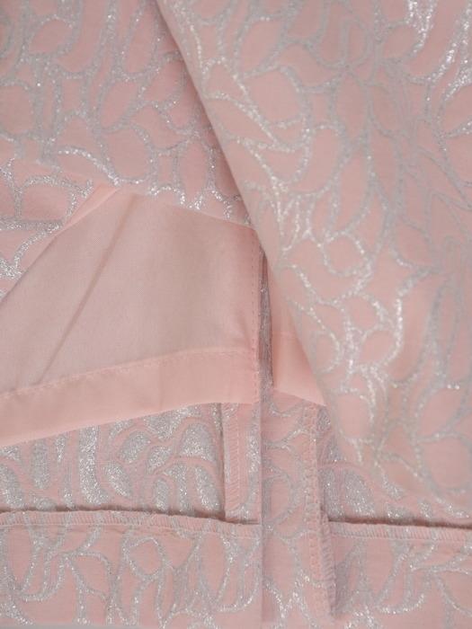 Elegancki, pudrowy kostium na wesele 21126