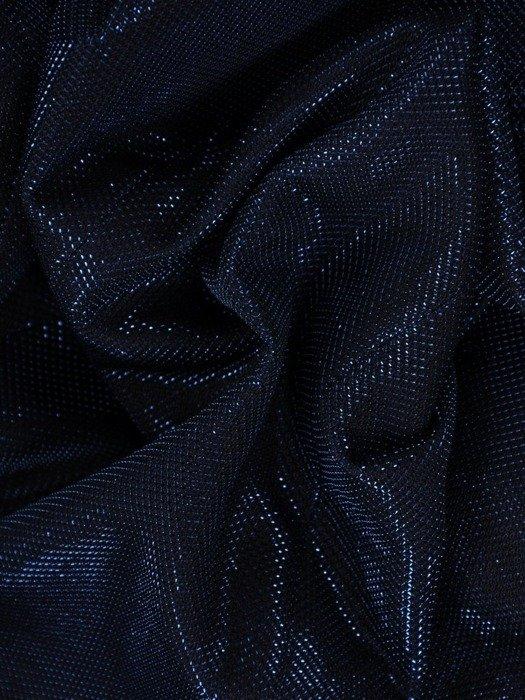 Elegancki żakiet z błyszczącej tkaniny 26008