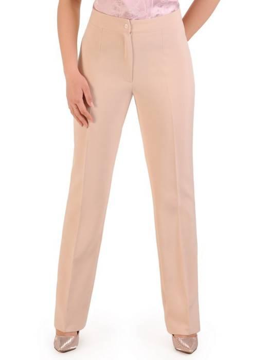 Garnitur damski, beżowy komplet spodnie z żakietem 29584