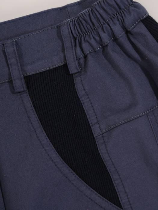 Granatowa bawełniana spódnica 28092