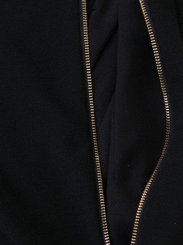 Klasyczna sukienka z ozdobnym suwakiem na plecach Iwitta IV.