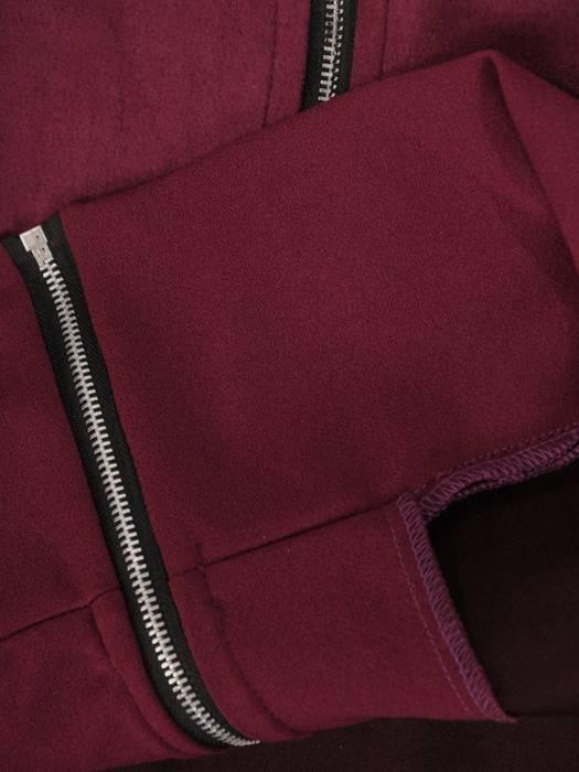 Komplet zamszowy z zapinaną bluzą 28675