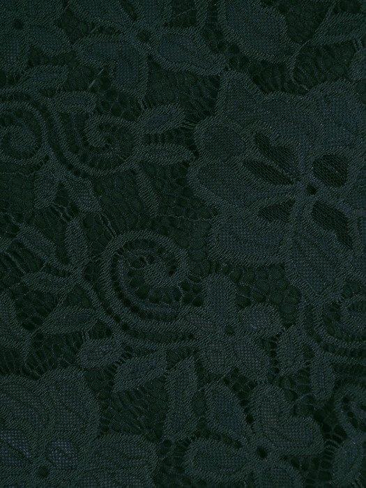 Koronkowa sukienka wizytowa, kreacja w kolorze zielonym 22562