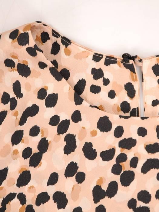 Luźna bluzka w stonowanych kolorach 30047