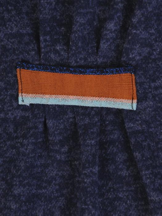 Melanżowa sukienka z wyszczuplającą wstawką w talii 22334