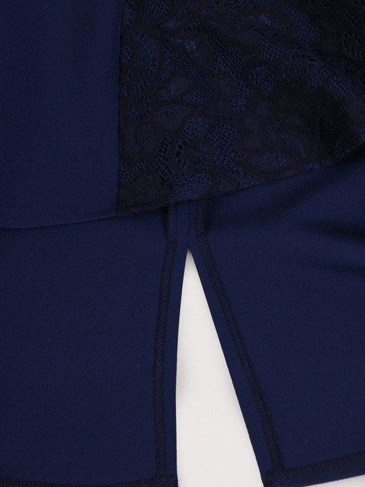 Modna sukienka z wyszczuplającą, koronkową wstawką 17855.