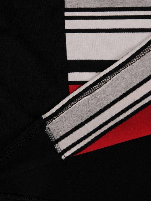 Nowoczesna bluzka w paski 14594.