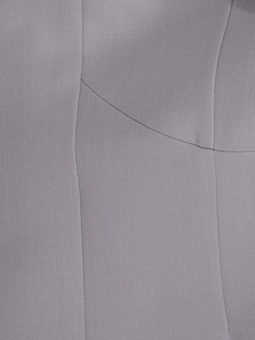 Nowoczesny płaszcz zapinany na guzik 21030