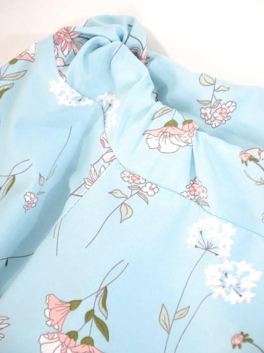Oryginalna bluzka, tunika z gumką przy dekolcie 29492