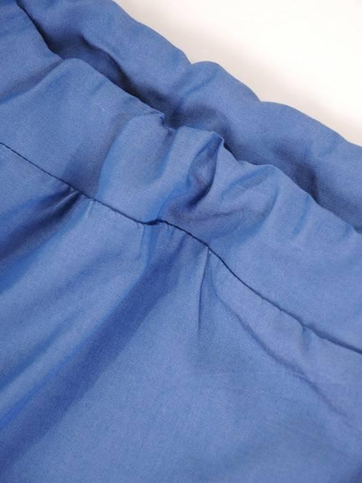 Oryginalna bluzka, tunika z gumką przy dekolcie 29502