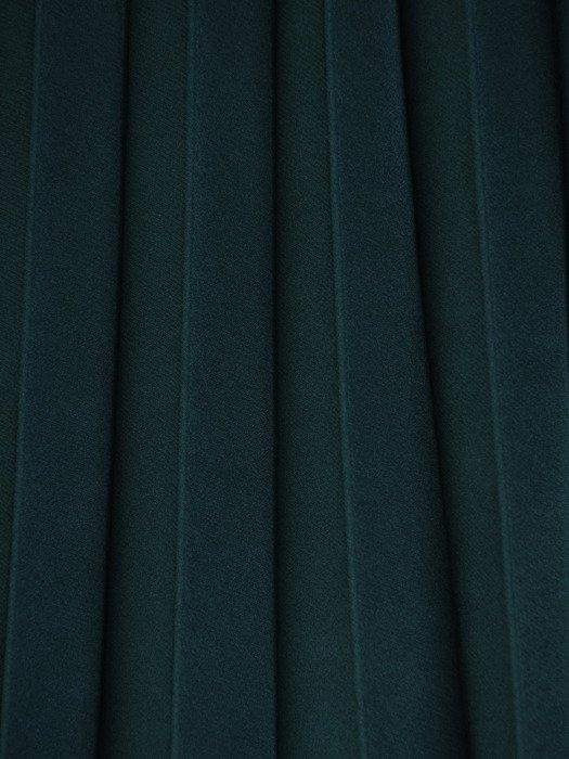 Plisowana spódnica z szerokim pasem 17563.