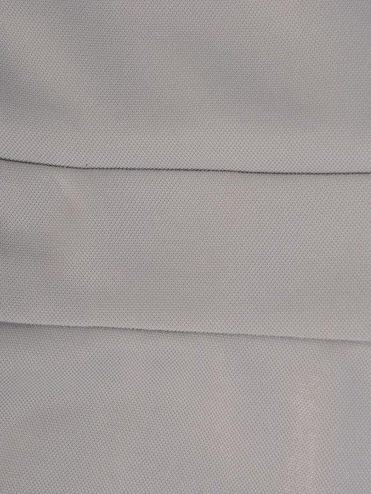 Połyskująca sukienka z dzianiny, kreacja z kopertowym dekoltem 22607