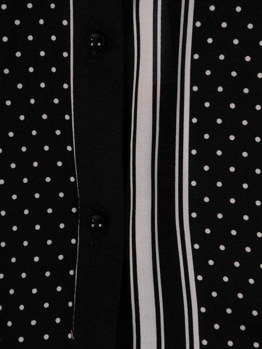 Prosta koszula w modne, geometryczne wzory 19410
