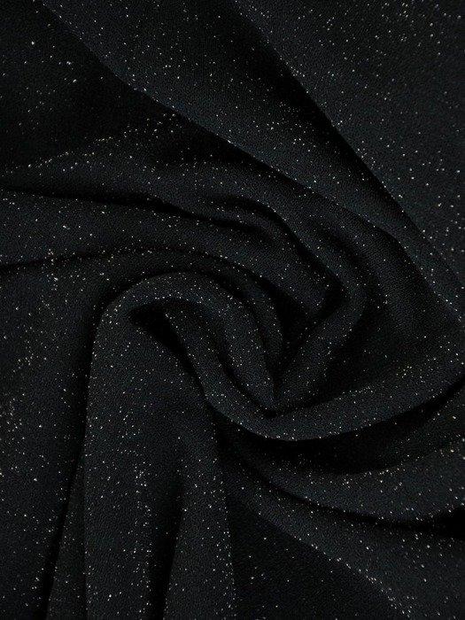 Prosta sukienka wizytowa, kreacja z połyskującej dzianiny 22458