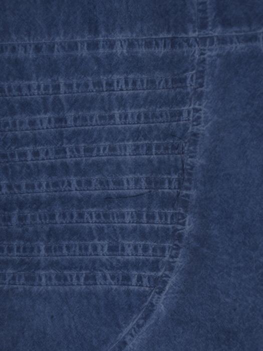 Prosta sukienka z geometrycznymi przeszyciami, modna kreacja z bawełny 20668