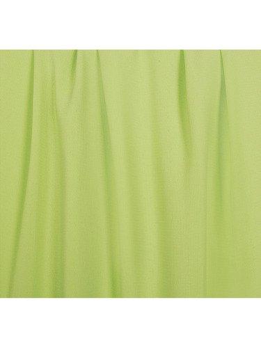 Rozkloszowana sukienka Izaura I, kreacja w kolorze pistacjowym.