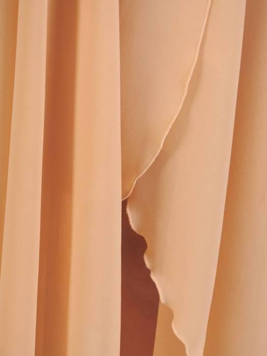 Rozkloszowana sukienka maxi, kreacja ze zwiewnego szyfonu 30272