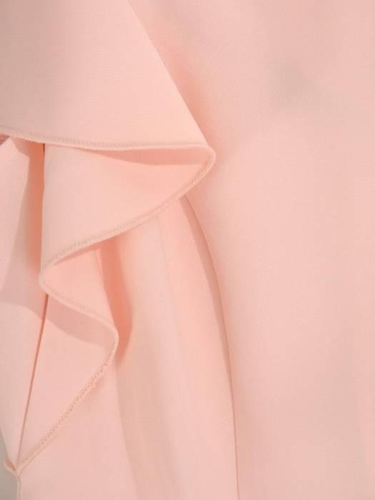 Rozkloszowana sukienka z dekoracyjnymi rękawami 26482